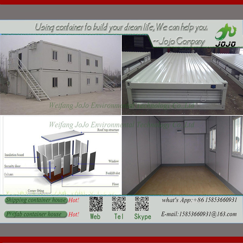 Prefab House for Sale/Prefabricated Container House/ Mobile House/Shipping Container