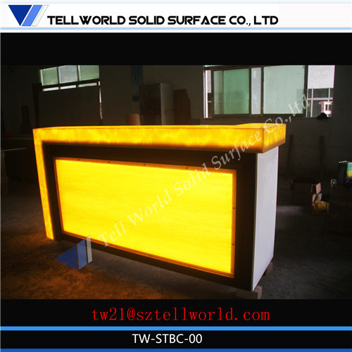 150 Kinds Design Modern Home Mini Bar Counter For Sale, Small Translucent  LED Bar Countertop Counter Cabinet Design