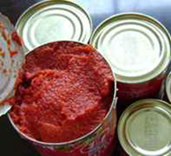 Tin Packing Canned Tomato Paste