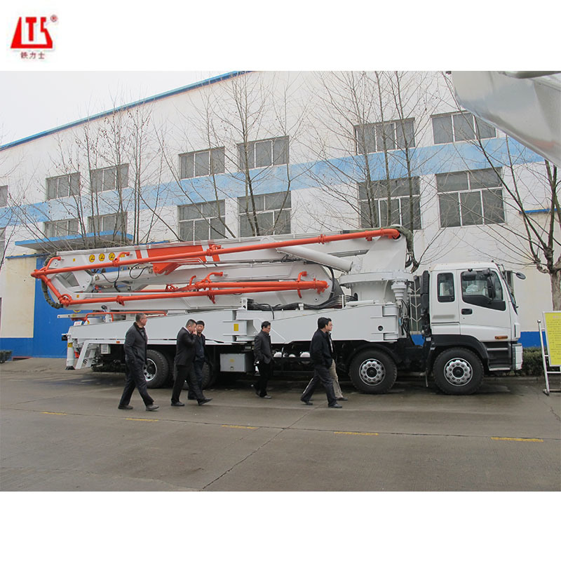 52m Boom Truck Mounted Concrete Pump wit...