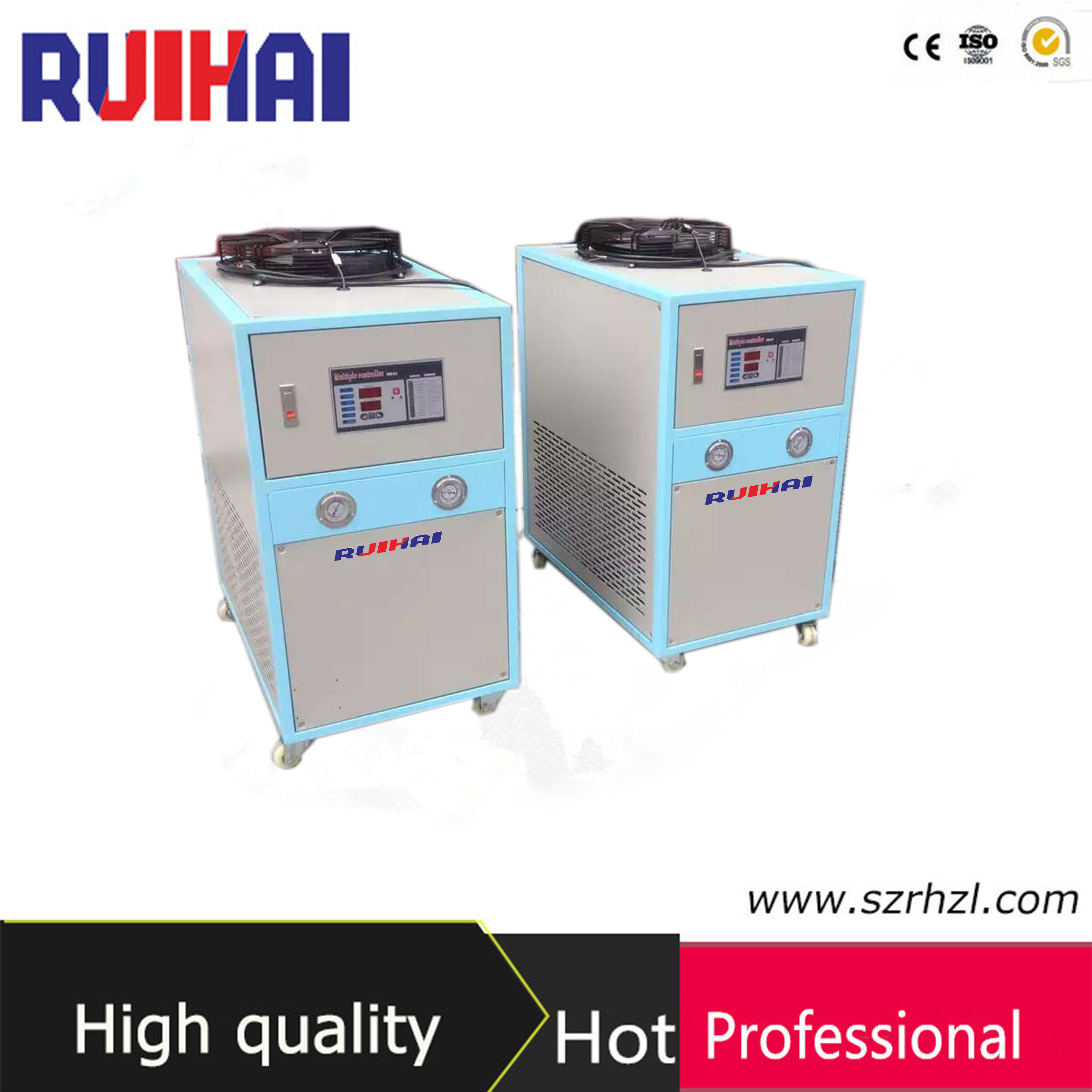 4rt Industrial Air Cooled Water Chiller for Injection Mahines
