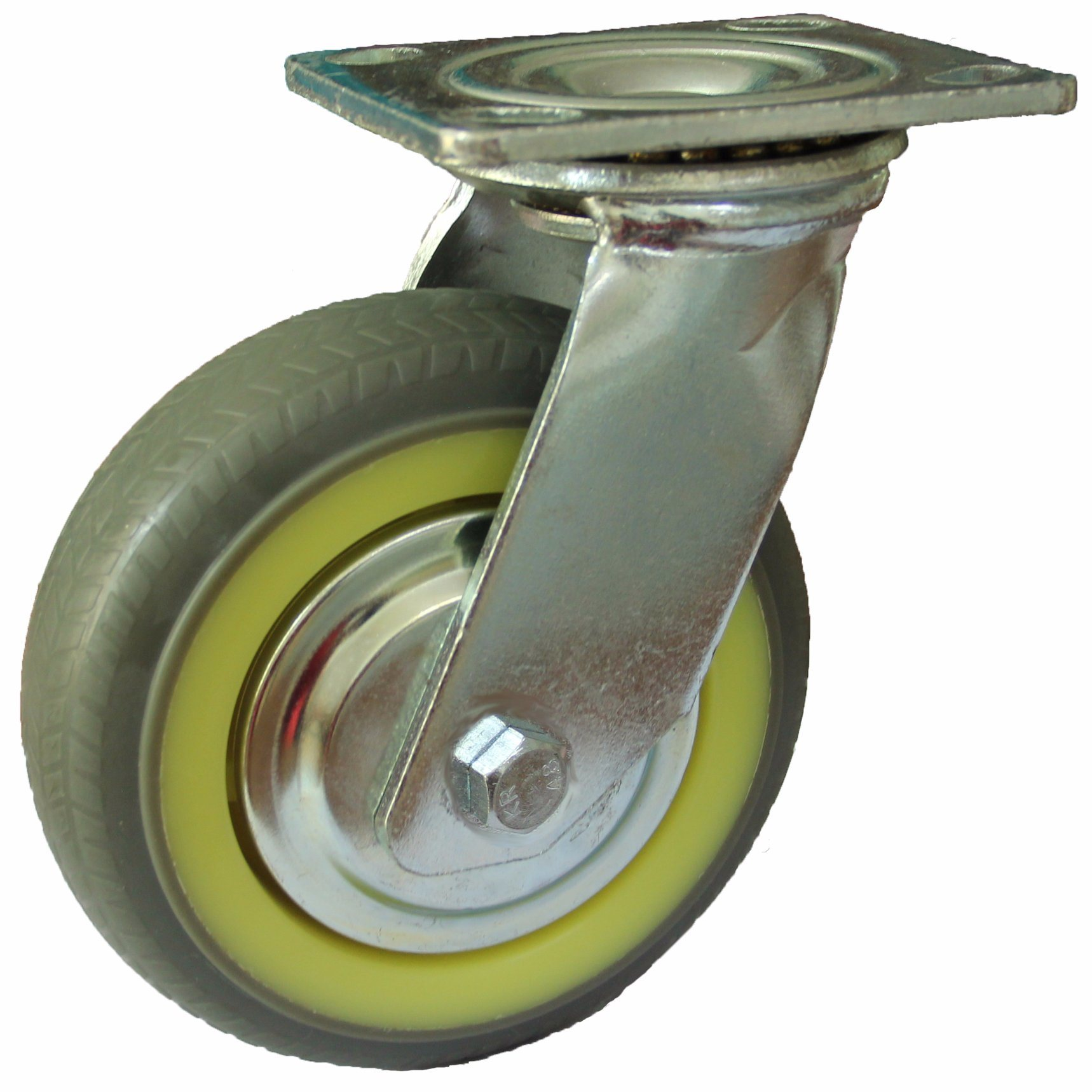 4/5/6/8 Inch Heavy Duty Grey TPR Caster (Swivel) for Trolley