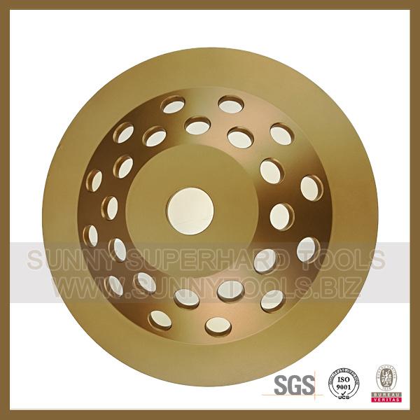 7 Inch 180mm Concrete Expoxy Floor Scraper PCD Diamond Cup Wheel