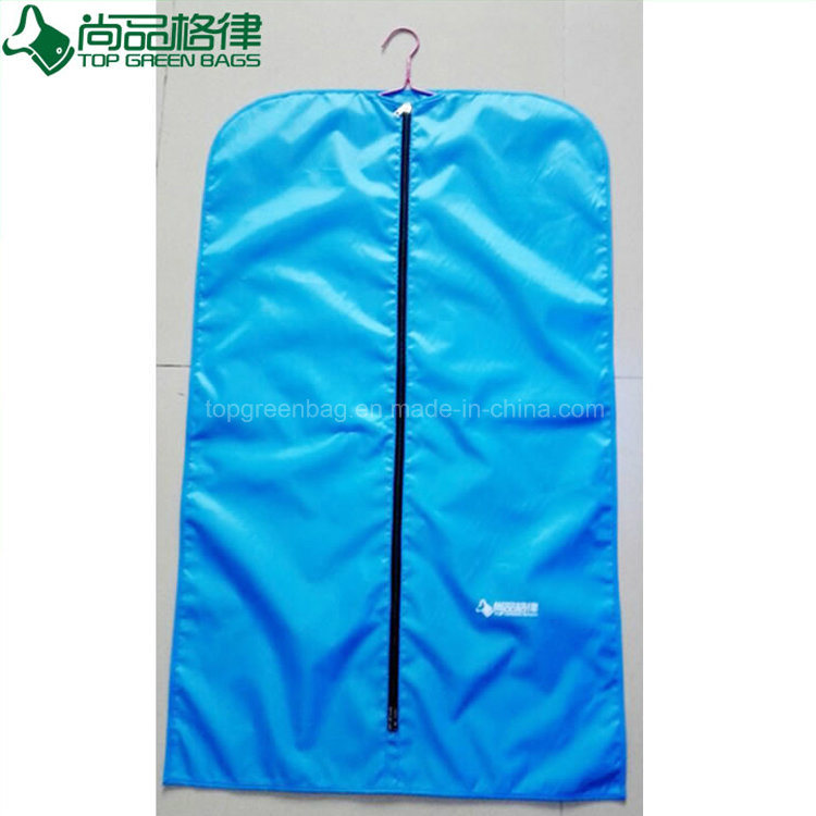 Polyester Zipper Suit Cover Garment Bag Clothing Dress Suit Cover Dust Bag