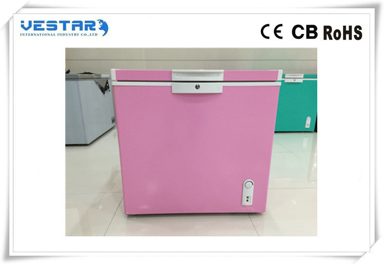 Colorful R600A Std Type Chest Freezer with 220-240V 50Hz