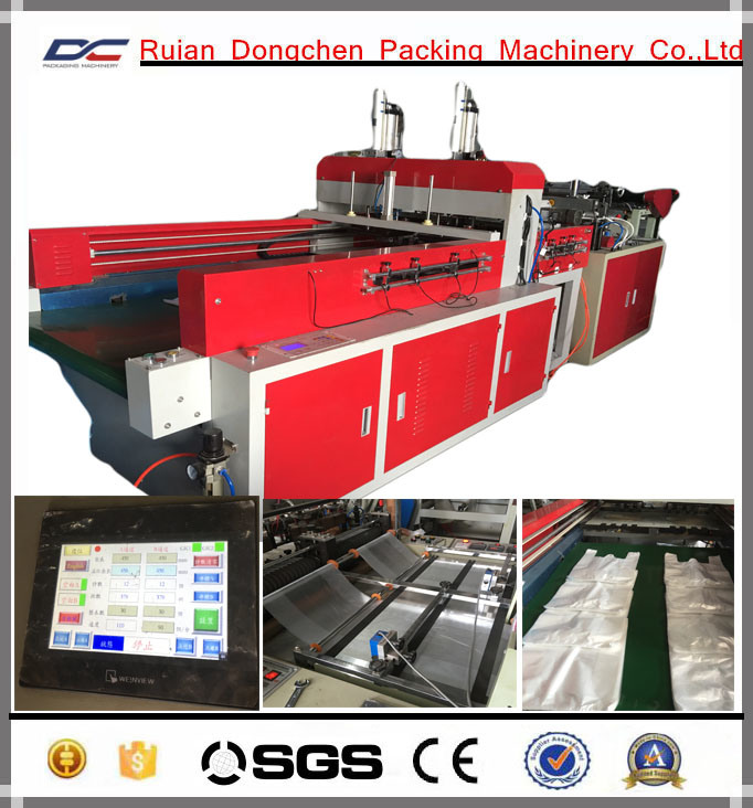 Automatic High Speed T-Shirt Bag Making Machine for 300PCS/Min (DC-SS450)