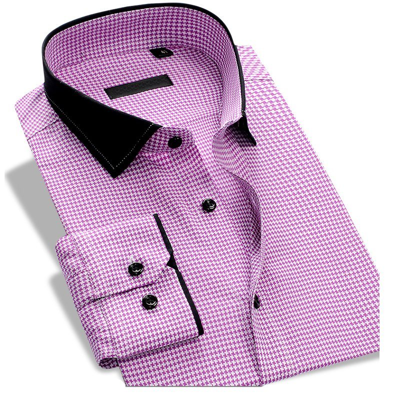 Latest Design 100% Cotton Formal Full Sleeve Men′s Dress Shirt