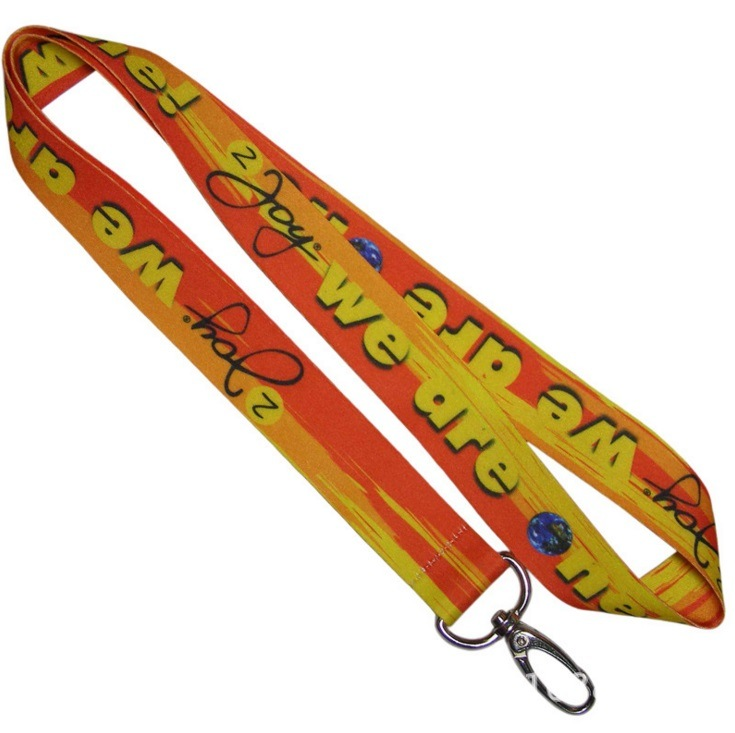 Promotional Sublimation Printing Polyester Lanyards for Advertising