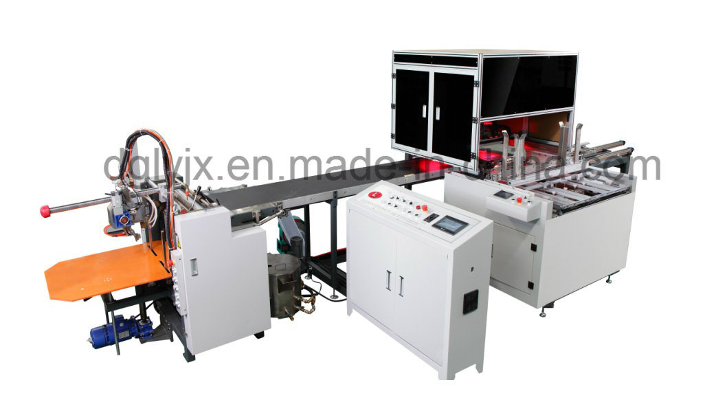 High-Speed Automactic Rigid Box Making Machine (with corner tape machine)