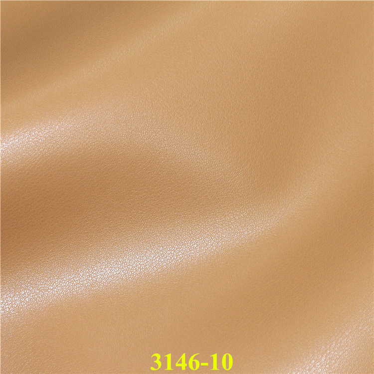 Synthetic PU Microfiber Leather for Furniture, Footwear, Bags, Automobile