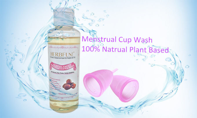 Personal Private Part Wash Cleansing & Menstrual Cup Wash Liquid Soap for Woman Daily Use