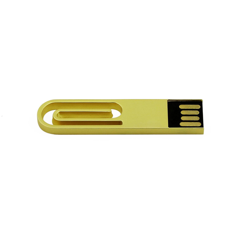 Mini Clip Plastic USB Flash Drive Lovely Gift