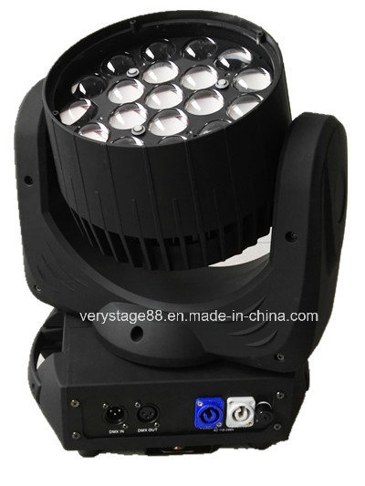 19 12W LED Zoom Beam Moving Head Event Light