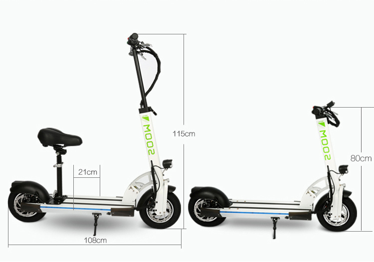 Lightest Foldable Urban Carbon Fiber Aluminum Electric Scooter