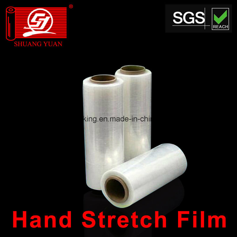 Strong Anti-Pressure LLDPE Plastic Packing Stretch Film for Hand and Machine Grade