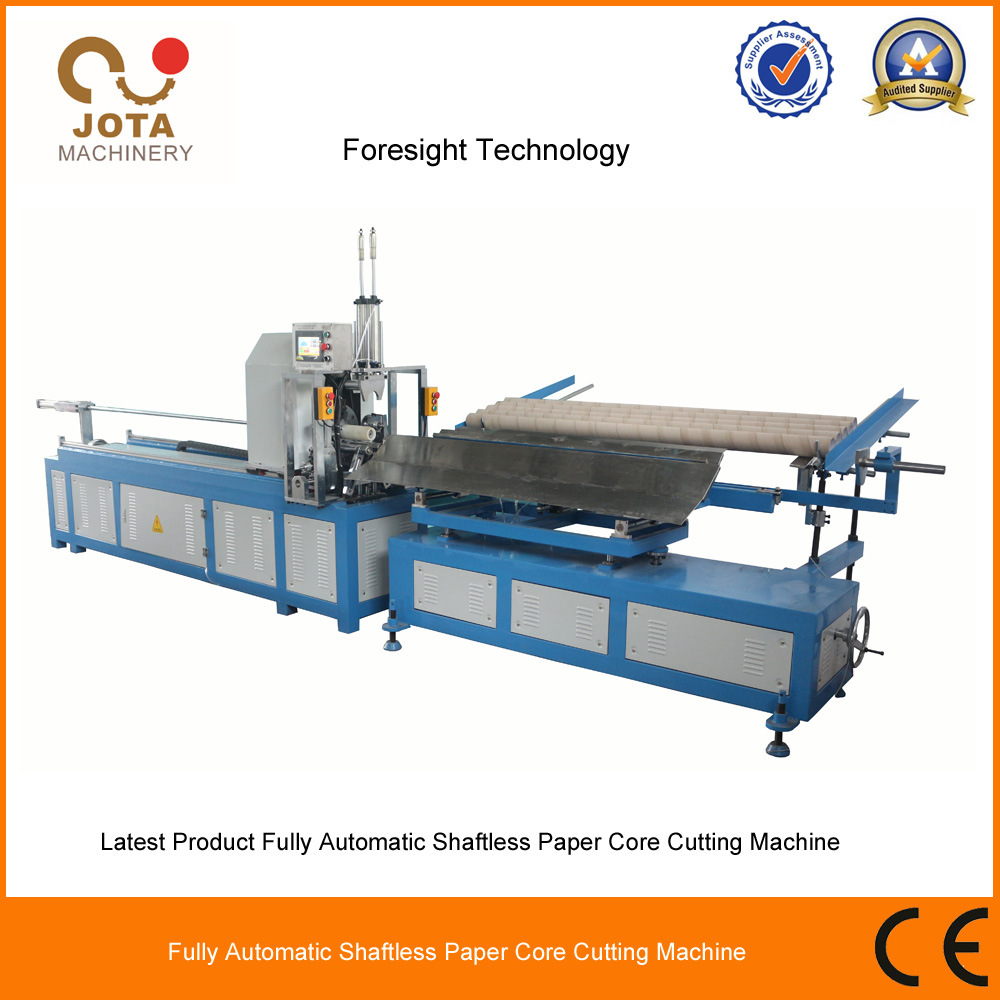 Multifunctional Auto Loading Shaftless Paper Core Cutting Machine Paper Pipe Cutter Paper Tube Cutter