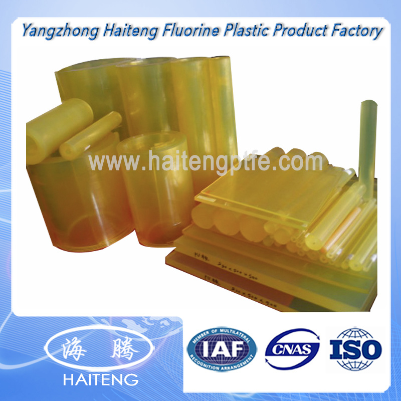Yellow Transparent Color Polyurethane Sheet PU Sheet Made with 100 % Virgin Polyether Material