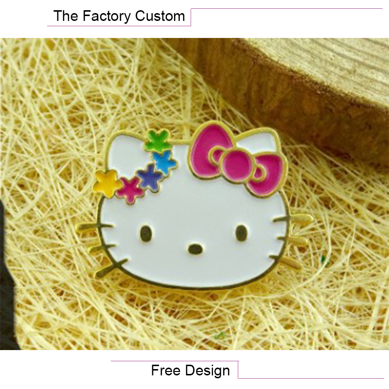 High Quality The Lacquer That Bake Cartoon Metal Badges