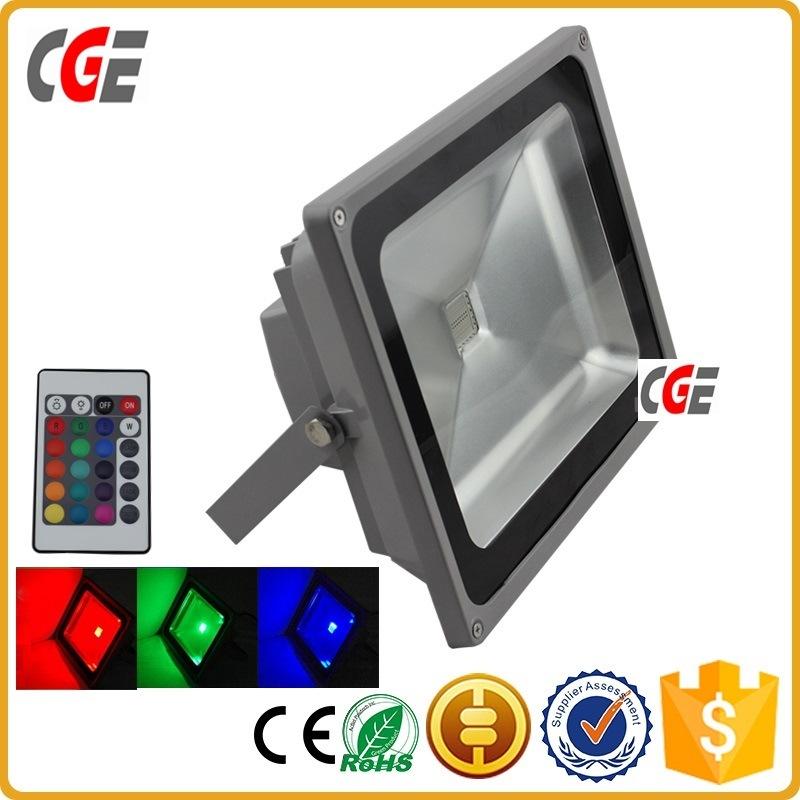 Professional China Manufacturer High Brightness Colorful RGB LED Flood Light 100W