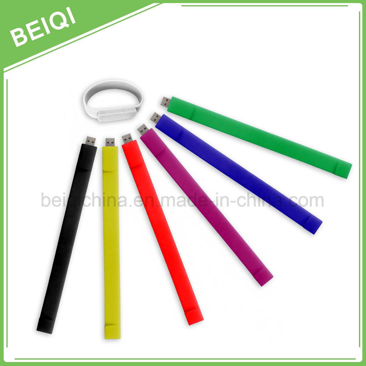 Promotional Custom Silicone Bracelet USB Flash Driver/USB Flash Stick