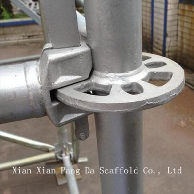 Galvanized Layher Steel Ringlock Scaffold System for Construction