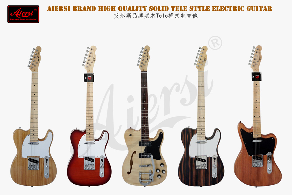 Aiersi Wholesale Electric Solid Body Electric Guitar for Sale