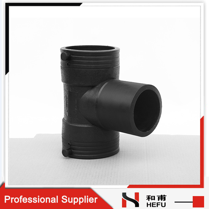 Joint Pipe Tube Pipe Fittings HDPE Custom Butt Fusion Equal Tee