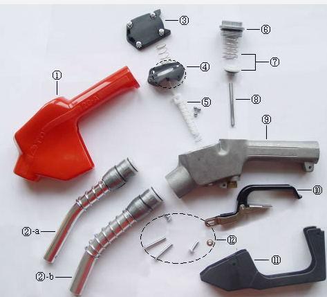 Lt-MD120 Automatic Nozzle for Fuel Dispenser