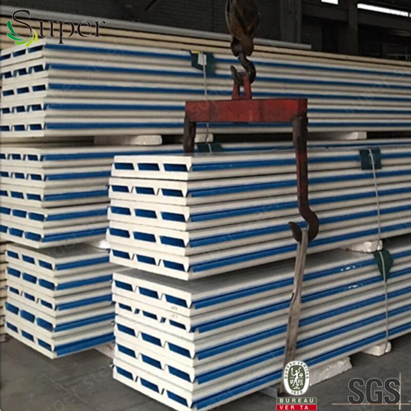 Ce PU Sandwich Roof Panel /Polyurethane Sandwich Panel/Pur Puf Sandwich Panel