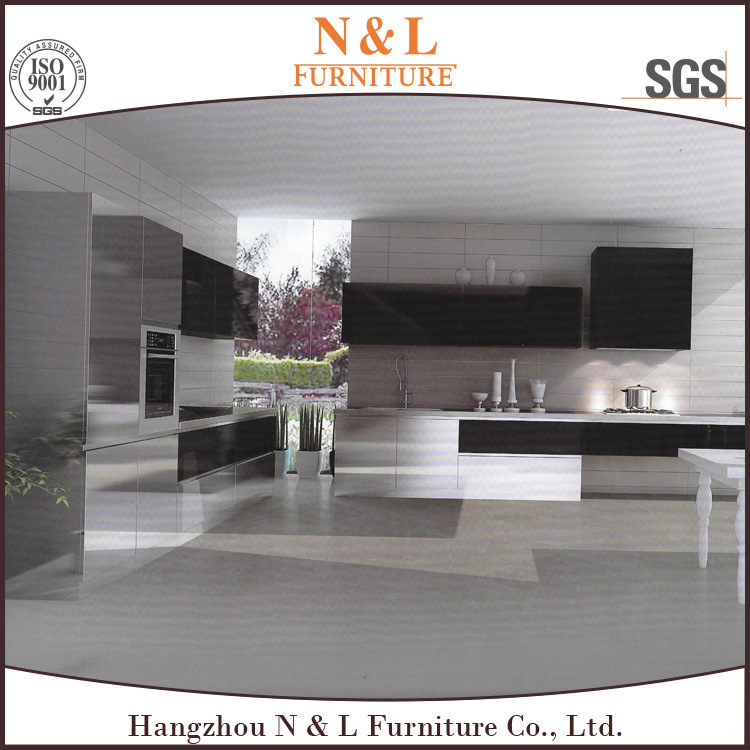 Customized Stainless Steel Kitchen Furniture High End of Outdoor Kitchen Cabinets