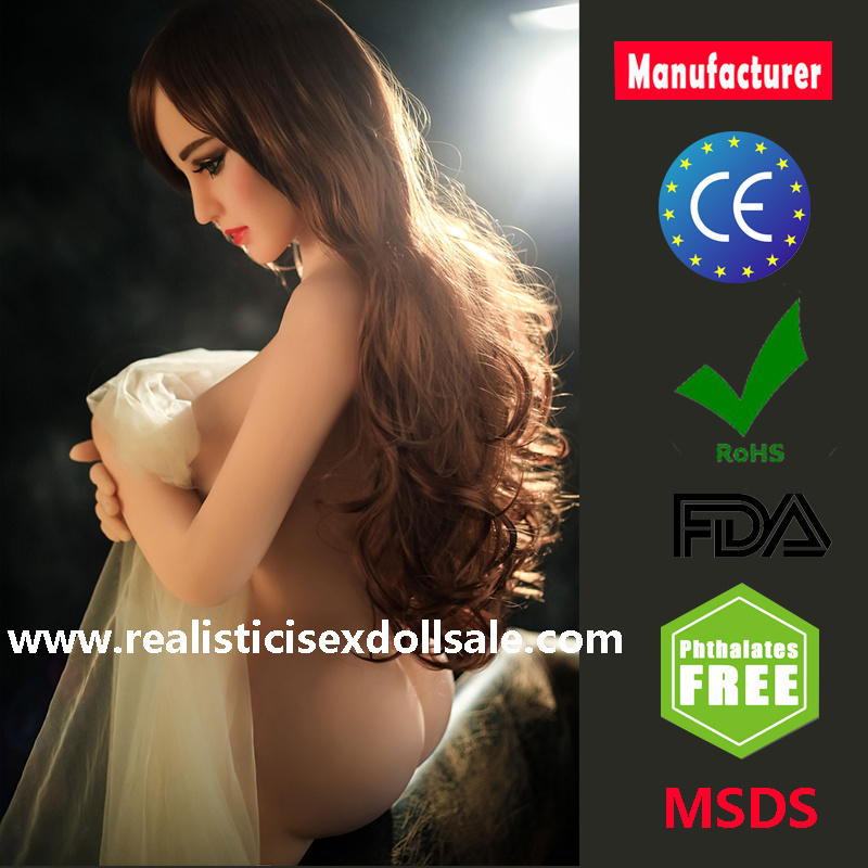 158cm Real Silicone Sex Doll Big Breast Oral Pussy Anus