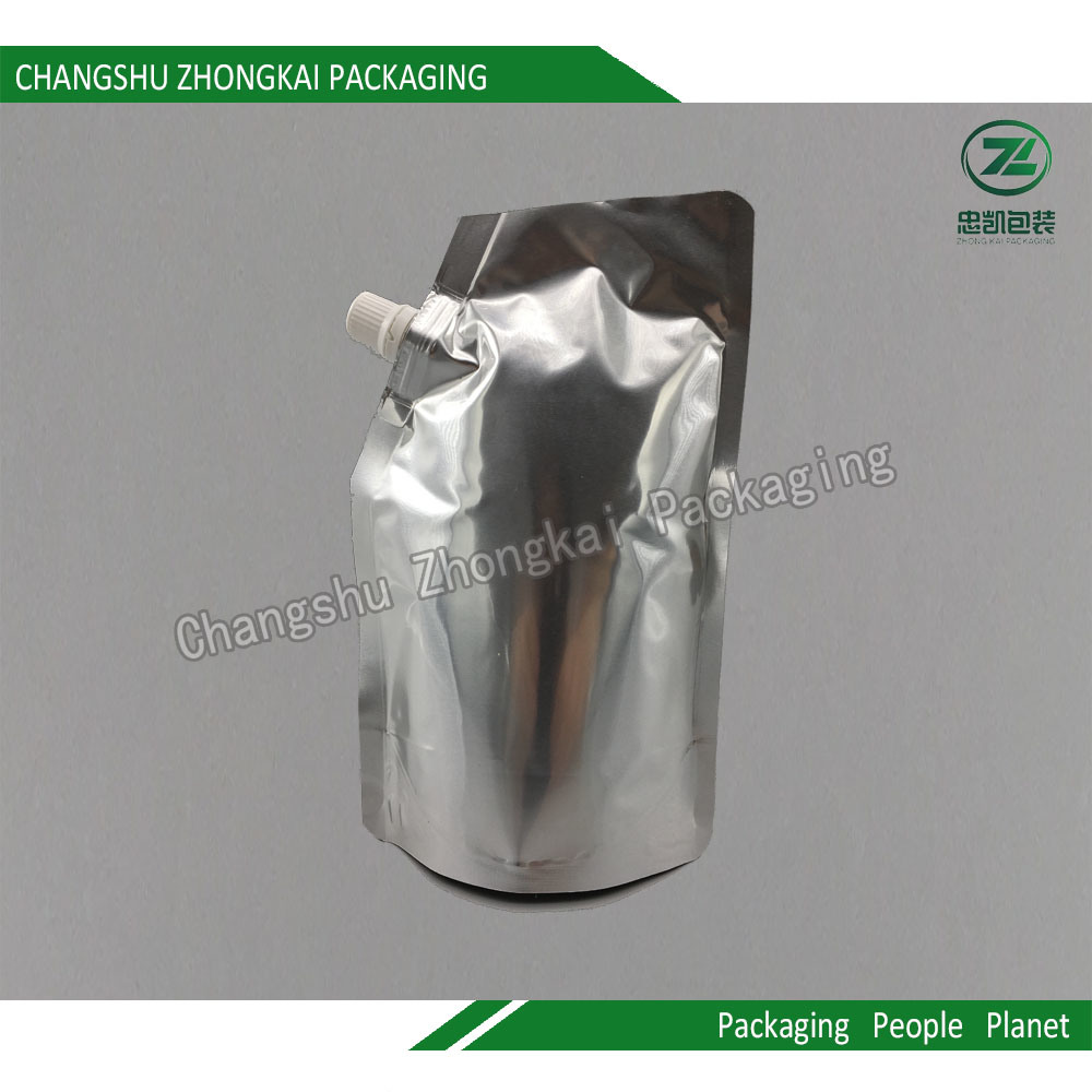 Plastic Laminated Foil Stand up Packaging Bag for Beverage / Daily Chemical Products