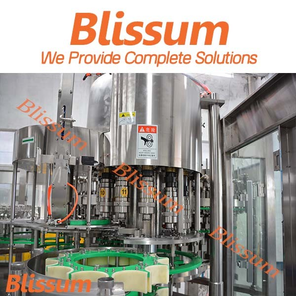 Full Automatic 8, 000bph Plastic Bottle Carbonated Drink Filling Machine