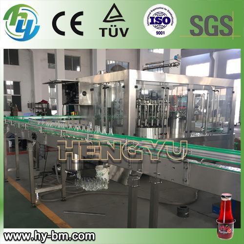 Glass Bottle Juice Tea Drink Filling Line