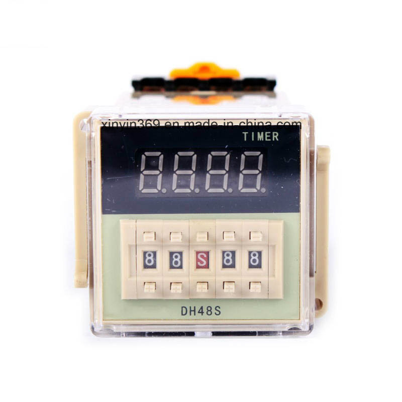 Dh48s-1z Ele⪞ Troni⪞ Display Digital Time Relay