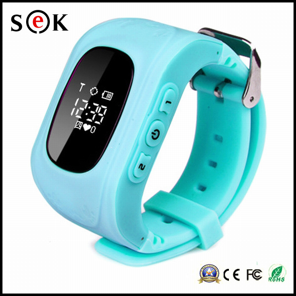 2016 Factory Wholesale Smart GPS Watch mobile Phone Q50 for Kids, Children′s Smart Track Watch