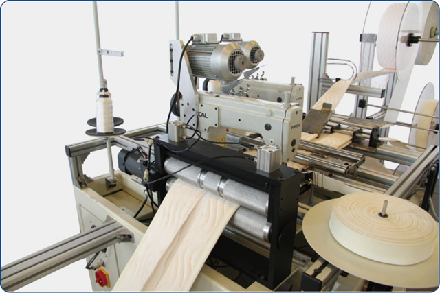 Automatic French Pillow-Top Mattress Border Sewing Machine