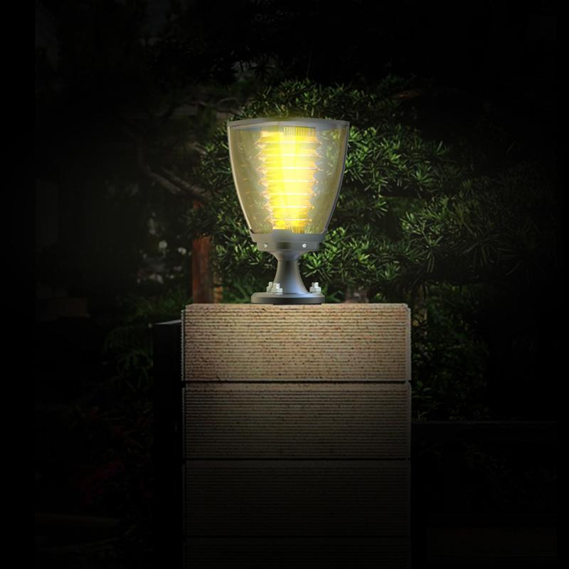 Rechargeable Solar Energy LED Garden Light Lamp IP65