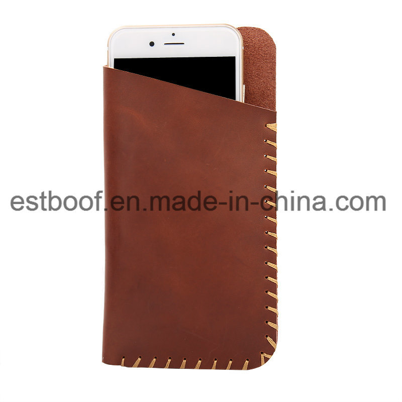 Genuine Leather Universal Mobile Phone Pouch Case
