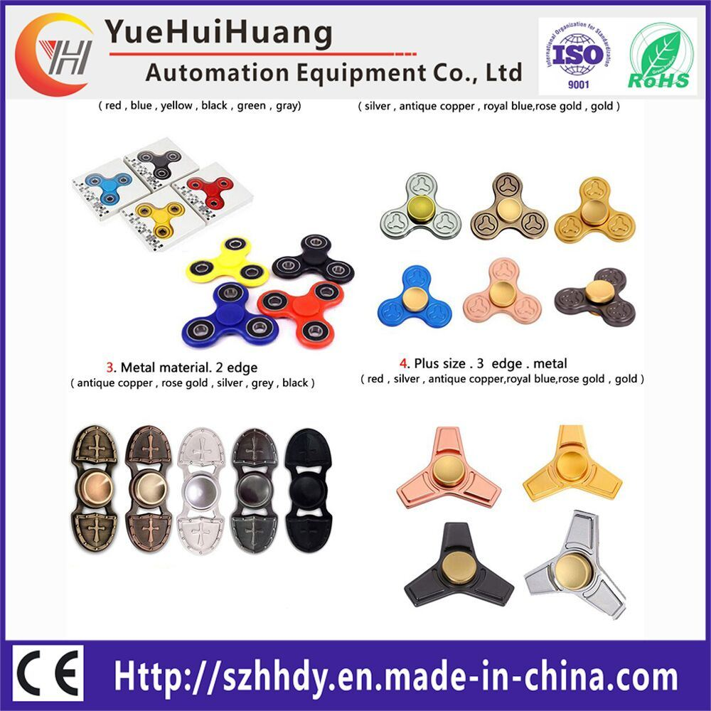 2017 Hot Puzzle EDC Leaning Educational Toy Hand Fidget Spinner