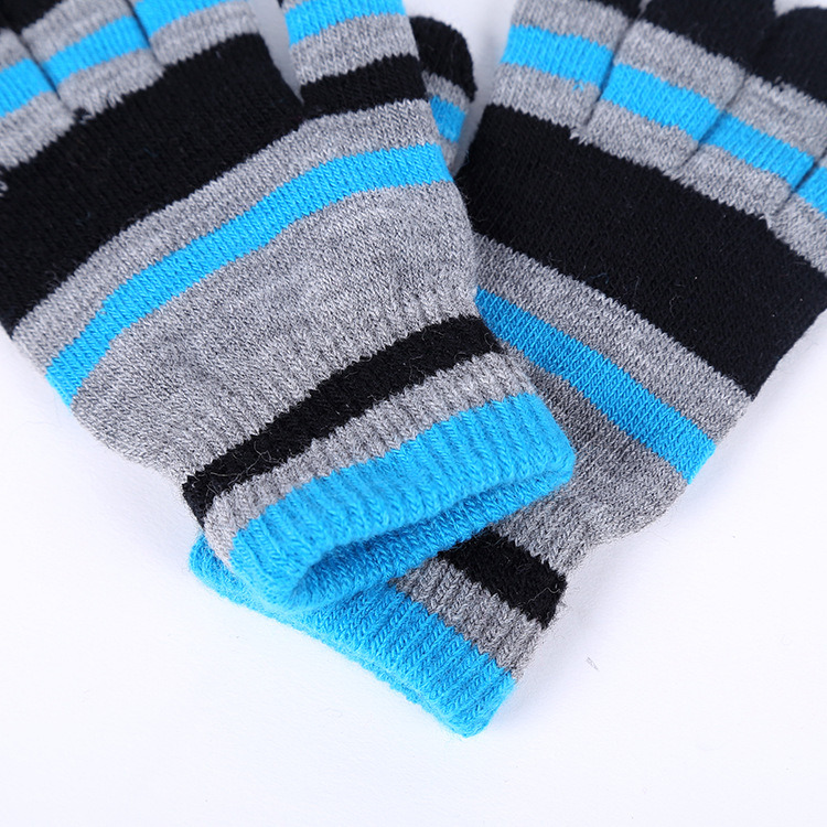 New Design Jacquard Touch Screen Gloves