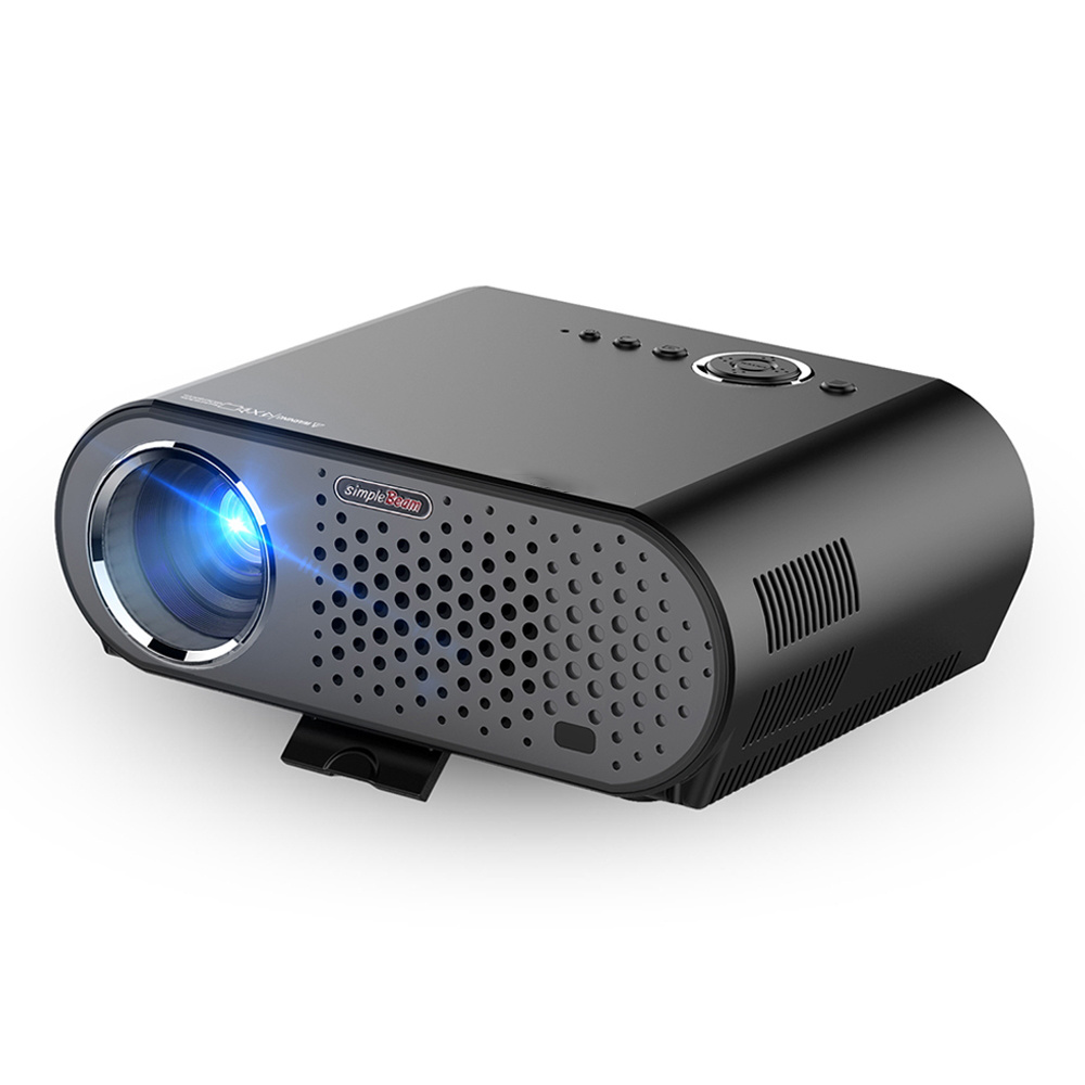 1280X800 Full HD 3200 Lumen LED Projector Support HDMI USB