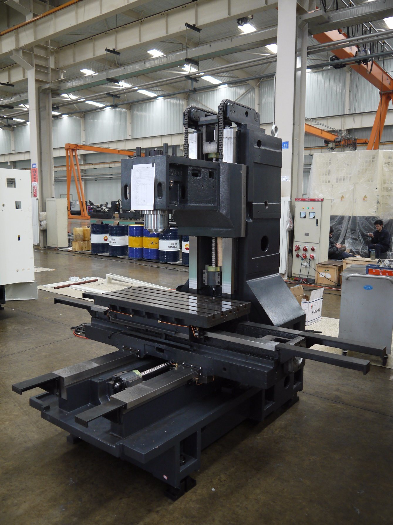 Vmc650L, Vmc850L, Vmc1060L Machining Center