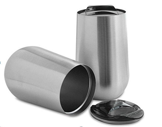 16oz Double Wall Stainless Steel Water Bottle Travel Mug Office Mug Thermos