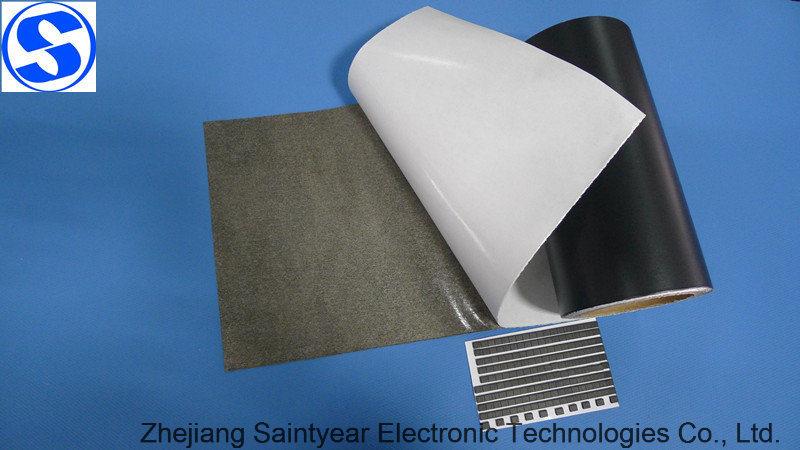 One-Side Black Plain Weave Conductive Fabric Tape