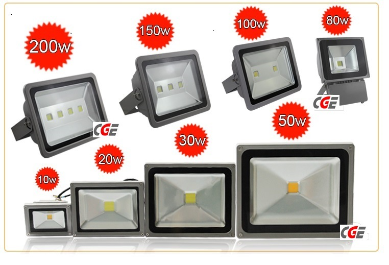 20W IP65 RGB LED Garden Flood Light