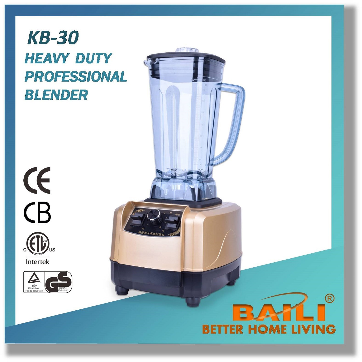 Heavy Duty Professional Blender with Variable Speed Control