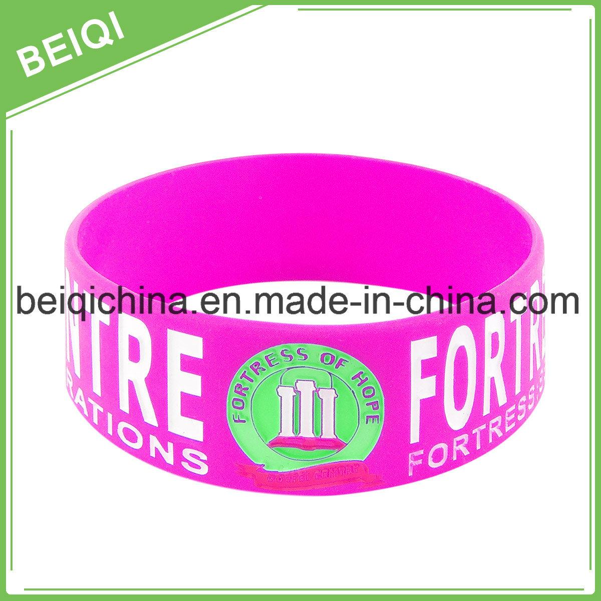 Personalized Rubber Silicone Bracelets