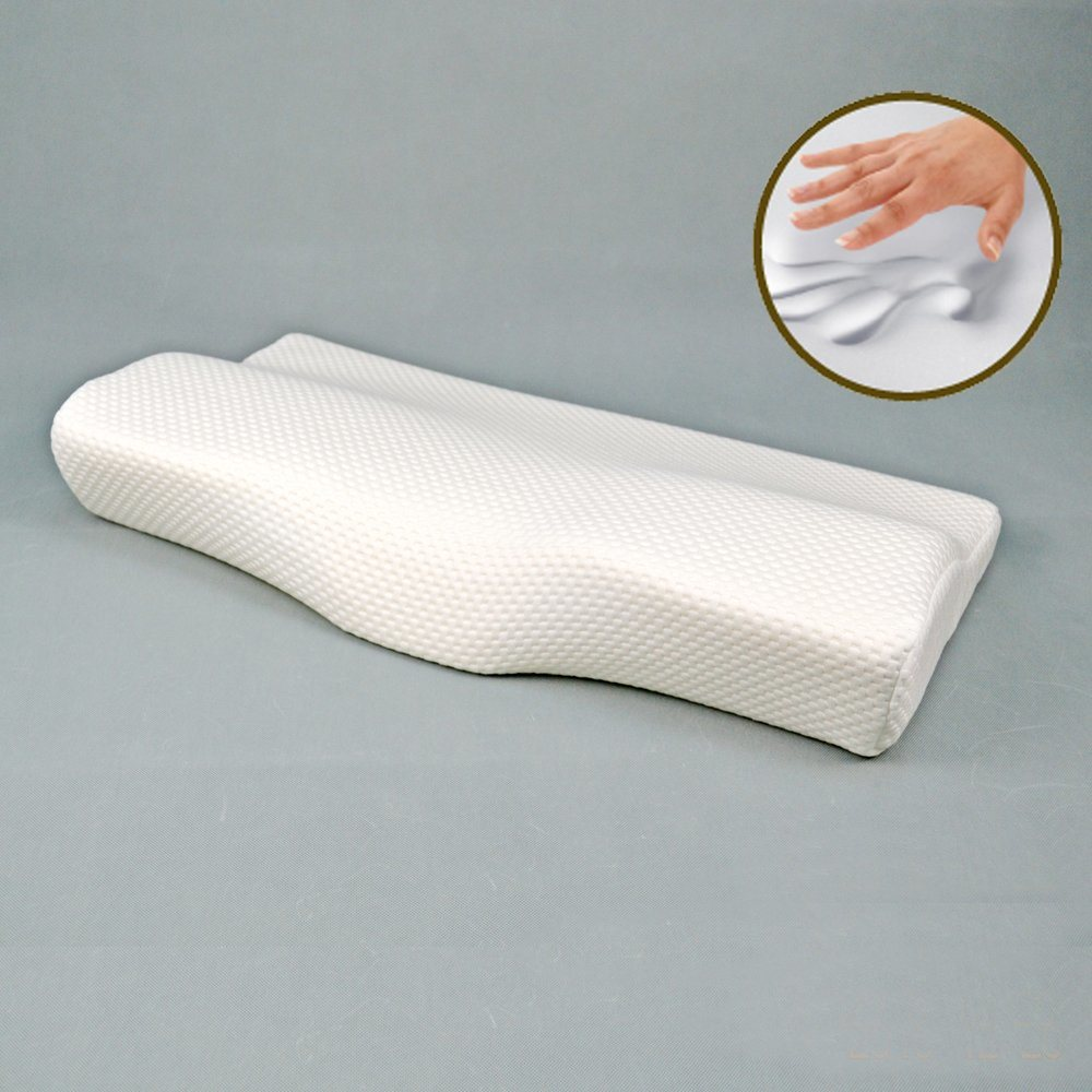 Visco Pillow Memory Foam with Knitting Cover