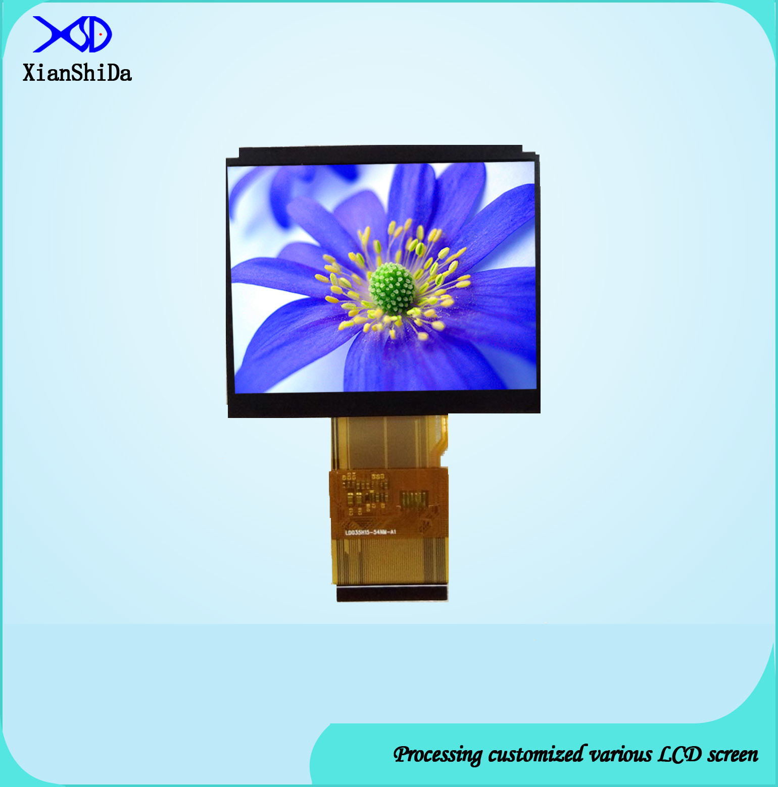 2000CD/M² High Brightness 3.5 Inch TFT LCD Screen 320 (RGB) X240 Resolution